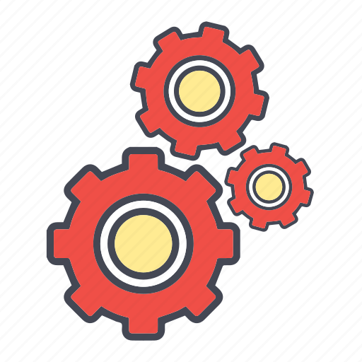 building, configuration, construction, gear, preferences, process, repair, setting, tools, work icon
