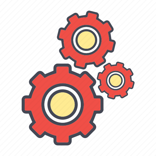 configuration, construction, preferences, process, repair, setting, tools, work icon