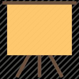 art board, board, green board, painting board, presentation icon