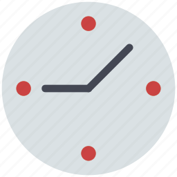 clock, timepiece, wall clock, wall watch, wall watch png icon