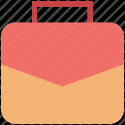 bag, bookbag, briefcase, laptop bag, portfolio, school bag, suitcase icon