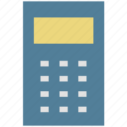 accounting, accounts, calculation, calculator, calculator machine, math icon