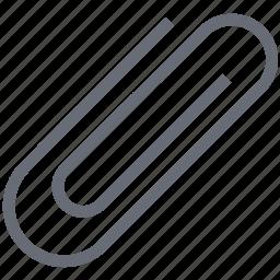 clip, document clip, paper clip, paperclip icon