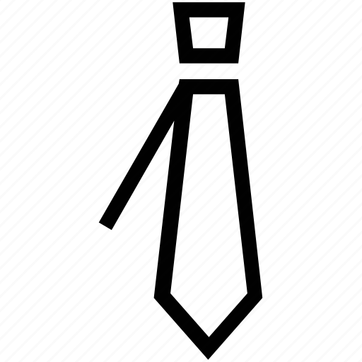 formal tie, necktie, office tie, school uniform tie, tie, windsor icon