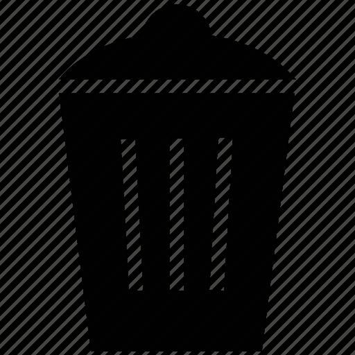 delete, dustbin, garbage, remove, trash, trash can, trashbin icon