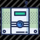 music, play, radio, set icon