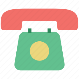 communication, landline, phone, phone set, telephone, telephone set icon
