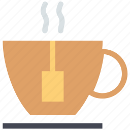 cup of coffee, cup of tea, hot tea, tea, tea bag icon