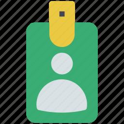 business card, card, document, id card, identity card, volunteer card icon