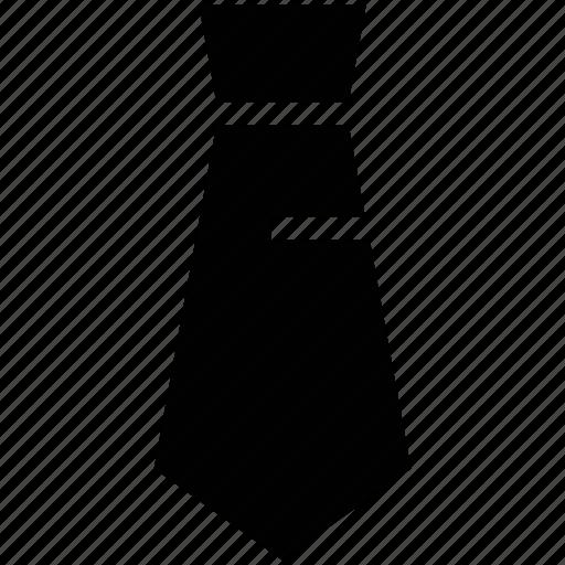 clothes, dress, formal tie, tie, uniform tie, windsor tie knot icon