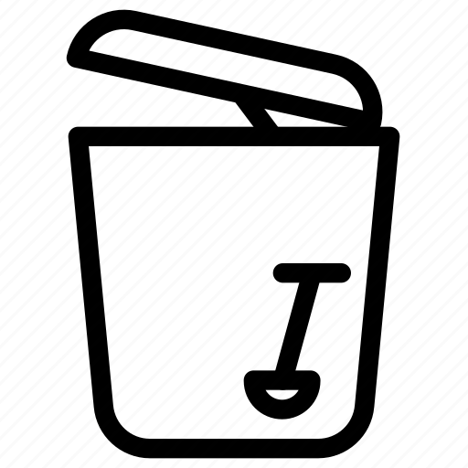 office, small trash can, trash, trash bin icon