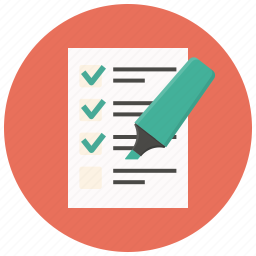 audit, exam, report, research, survey, test, testing icon
