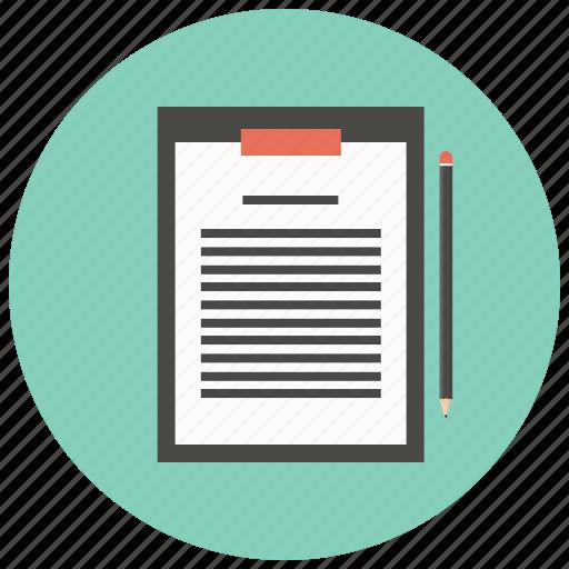 checklist, checkmark, clipboard, list, questionnaire, survey, tracklist icon