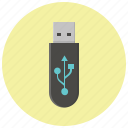 data, device, flash, memory, storage, usb, usb stick icon