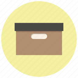 archieve, archive, box, files, folder, office, package icon
