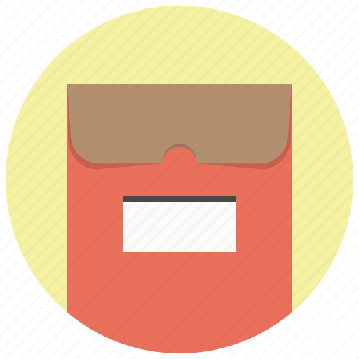 documents, envelope, file, folder, mail, office, package icon