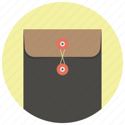 envelope, file, folder, letter, mail, office, package icon