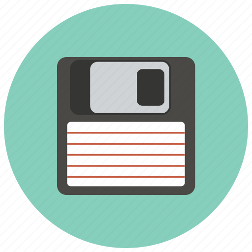 backup, data, disc, diskette, download, floppy, save icon