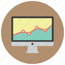 analysis, analytics, diagram, graph, presentation, report, statistics icon