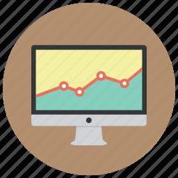 analysis, analytics, diagram, graph, presentation, report, statistics icon