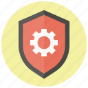 guard, protect, safe, safety, security, settings, shield icon