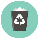 bin, cancel, delete, garbage, recycle, remove, trash icon