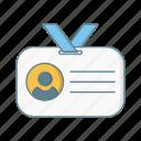 card, id, id card, identification, identity, nametag, profile icon