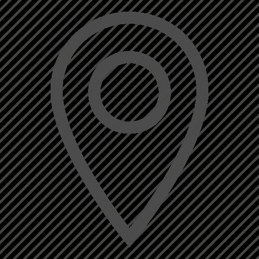 gps, location, map, marker, navigation, pin icon