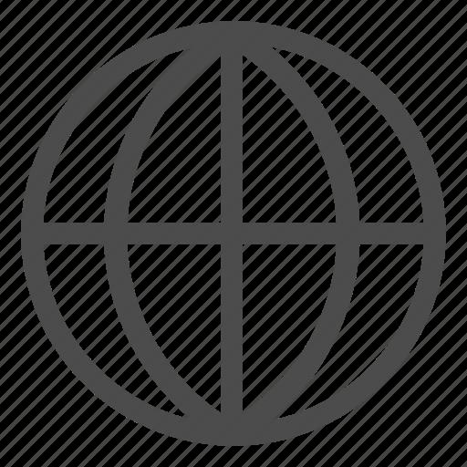 earth, global, globe, international, network icon