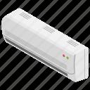 ac, air conditioner, cooler, room temperature, split ac icon