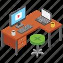media office, media production, office, office desk, video tutorial, workplace