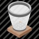 bin, delete, dustbin, garbage, recycle bin icon