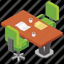 office area, office break, office furniture, recess, teatime