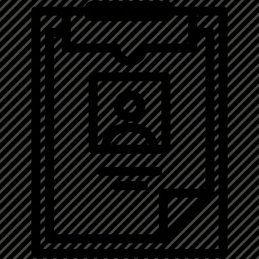 checklist, clipboard, form, image, list, photo, report icon
