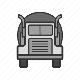 autotruck, camion, lorry, oil-truck, truck icon