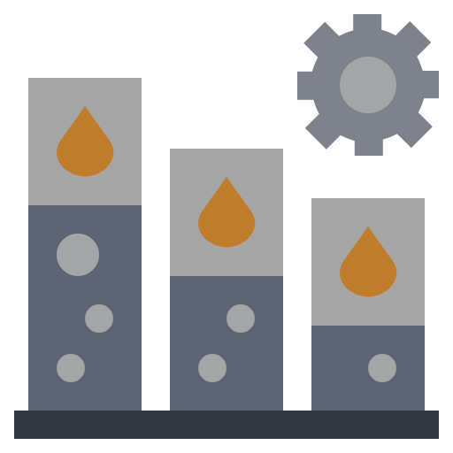 energy, extraction, factory, illustration, industry, oil, power icon