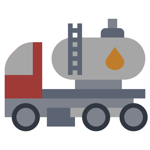 energy, factory, illustration, industry, oil, power, truck icon