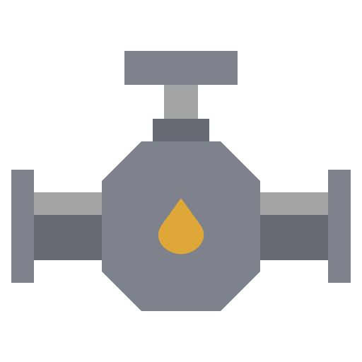 energy, factory, illustration, industry, oil, power, valve icon