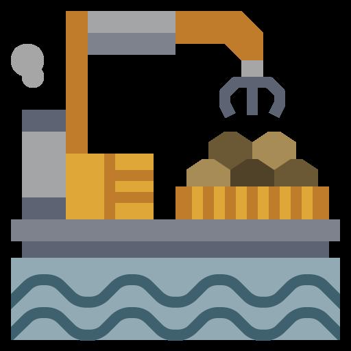 energy, factory, illustration, industry, oil, power, transportation icon