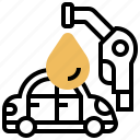 fuel, gasoline, nozzle, petrol, station icon