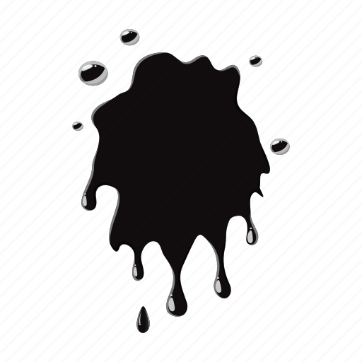 blot, dirty, drop, oil, splash, spot, stain icon