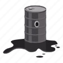 barrel, cartoon, fuel, gas, metal, oil, pump icon