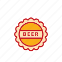 beer, bottle, oktoberfest, party icon