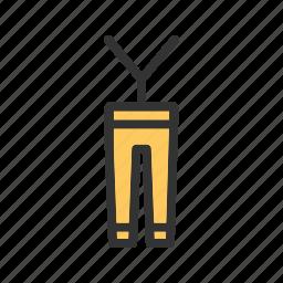 apparel, clothes, fashion, jeans, men, pants, trouser icon