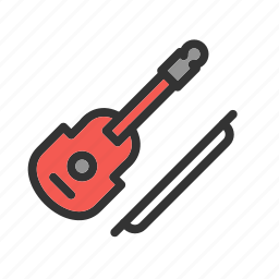 cello, classical, concert, instrument, music, play, violin icon