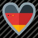 ferstival, germany, heart, love, oktoberfest icon