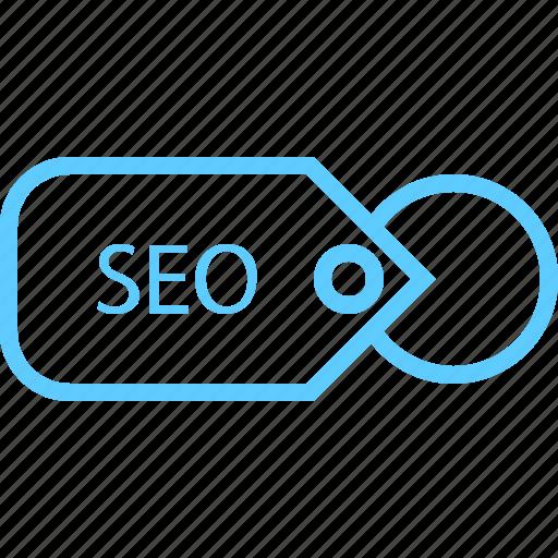 brand, presentation, seo, tag icon