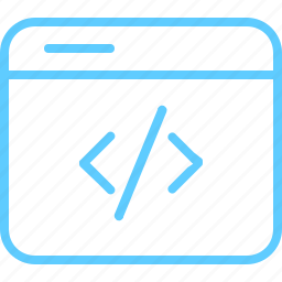 browser, code, coding, optimization icon