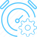 deadline, management, settings, time icon