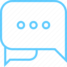 bubble, chat, live, support icon
